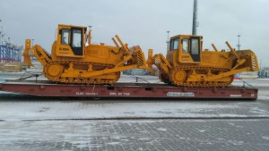 Tractor export from Russia
