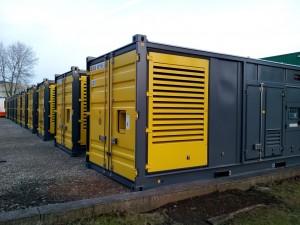 container diesel generators